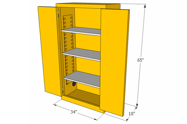 Lovely Flammable Storage Cabinets Ideas